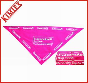 Fashion Cotton Puff Printing Triangle Pet Bandana pictures & photos
