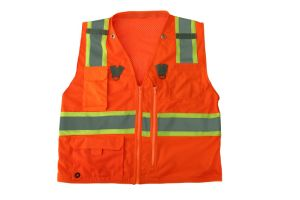 High Visbility Surveyor Safety Vest