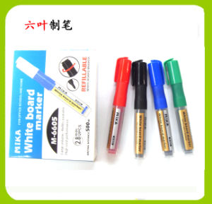 Non Toxic Refillable Ink Whiteboard Marker Pen (6605) , Stationery Pen pictures & photos