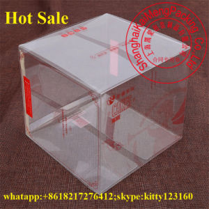 Food Grade Clear Pet Plastic Folding Box Kmart