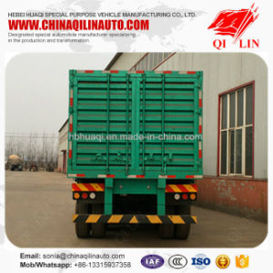 Good Quality Cargo Fence Semi Trailer with Fuwa 13t Axle pictures & photos