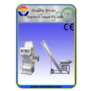 Semi-Automatic Salt Packaging Machinery/Granule Weighing Filling Machine pictures & photos