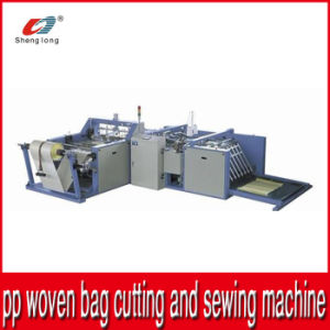 Industrial Machinery Automatic Cutting and Stitching Machine for Plastic PP Woven Fabric Roll Bottom pictures & photos