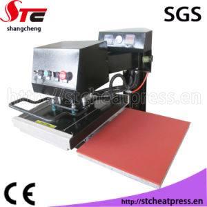 Swing Away Automatic Pneumatic Double Station Heat Press Machine Pneumatic Shaking Head Heat Transfer Machine Stc-Qd04 pictures & photos