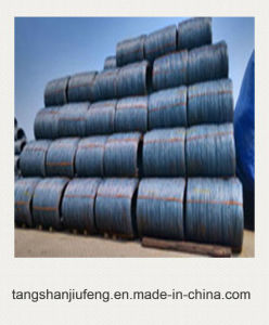 Hot Rolled Low Carbon Steel Wire Rod in Coils pictures & photos