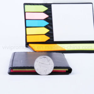 PU Notepad with Sticky Post Tips for Promotion (PN239) pictures & photos