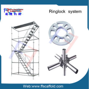 Most Safety and Heavy Duty Construction Steel Ringlock Scaffolding Rosette pictures & photos