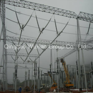 Power Transmission Transformer Substation Steel Structure pictures & photos