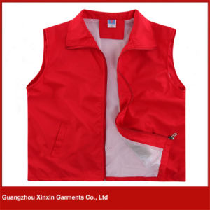 Printed Promotional Vest with Custom Logo Imprint for Advertising (V07) pictures & photos