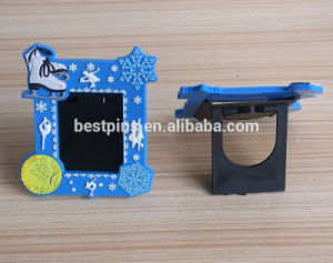 Lovely Baby Photo Frame, Beautiful PVC Photo Frames with Magnet, Promotion Blue Photo Frame pictures & photos