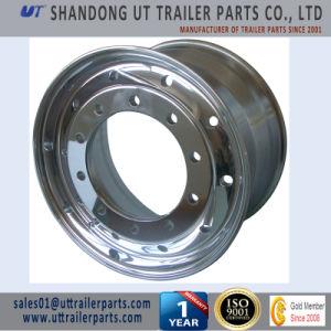 11.75X22.5 Polished Aluminum Alloy Wheel Rim for Truck and Trailer pictures & photos