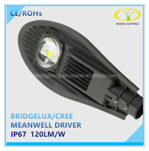 50W Meanwell Driver IP67 LED Street Light with Photocell Control pictures & photos
