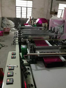 Aluminum Bubble Film Bag Making Machinery pictures & photos