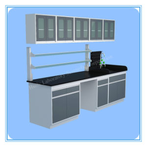 China Factory Sell All Steel Lab Side Sink Bench pictures & photos