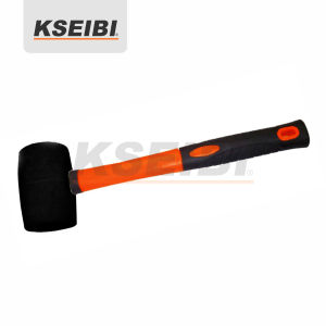 Kseibi Black Head Rubber Mallet Hammer with Progrip Handle pictures & photos