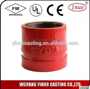FM Approved Ductile Iron Grooved Female Thread Socket Reducer pictures & photos