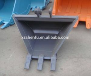 Trapezoid Excavator Bucket Without Teeth Type pictures & photos