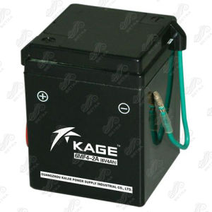 Motorcycle Battery (6MF4-2A) 6V-4Ah