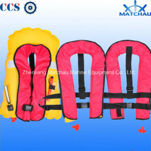 High Visibility Portable Inflatable Life Jacket pictures & photos