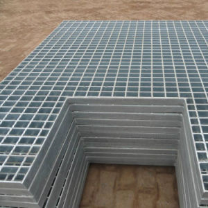 Drainage Channel Galvanized Steel Grating pictures & photos