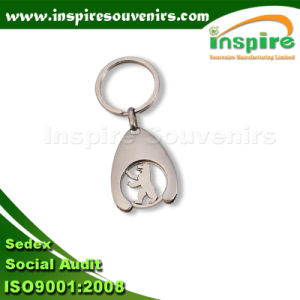Shopping Coin Trolley Key Ring for Promotion pictures & photos