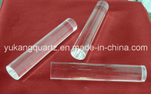 Ge Equivalent Transparent Quartz Rod for Optic Used pictures & photos