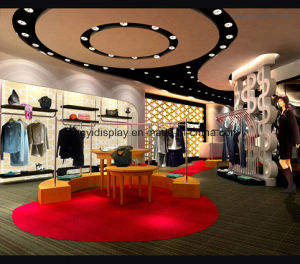 Fashion Design Ladies Clothes Shops Design with Custom Size pictures & photos