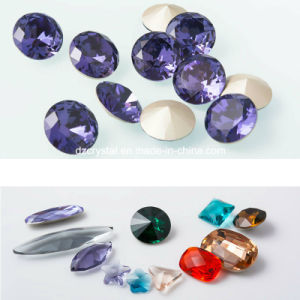 Decorative Crystal Unique Fancy Stone for Jewelry Accessories pictures & photos