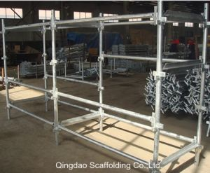 Australia Standard Q235/Q345 Steel Kwikstage Scaffolding System for Construction pictures & photos