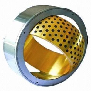 Steel on Heavy-Duty Bronze Spherical Plain Bearings Maintenance Required