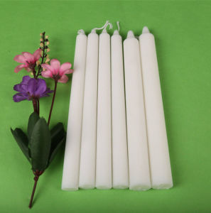 20cm Popular Pure White Paraffin Candle pictures & photos