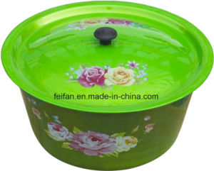 Wash Bowl with colorful Painted Finish pictures & photos