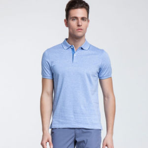 Wholesale Mens 100 Cotton Polo Shirts with Customized Logo Embroidery or Printing pictures & photos