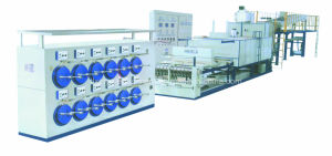 Horizontal Type Energy Saving Enamelling Machine (TLQ5/1-10+10/7+1)