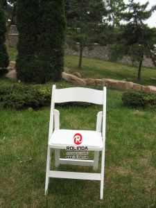 Top Quality Wooden Wedding Event Folding Chair pictures & photos