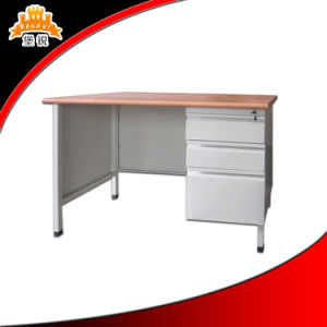 Steel Office Computer Desk with Steel Cabinet pictures & photos