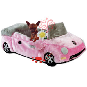 Plush Soft Cartoon Car Pet Bed pictures & photos