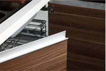 Modern Wholesale Melamine Small Kitchen Cabinets (zg-014) pictures & photos
