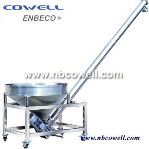 Inclined Screw Conveyor with Vibrating Hopper