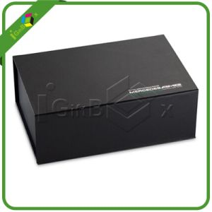 Luxury Printed Black Gift Box Packaging pictures & photos