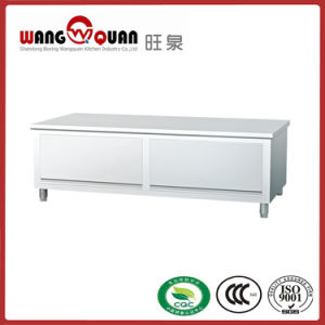 Factory Directly Saleswing-up Door Stainless Steel Worktable pictures & photos