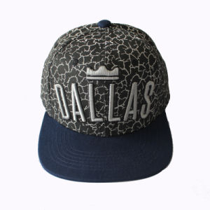 3D Embroidery Sublimation Snapback Cap (GKA15-F00032) pictures & photos