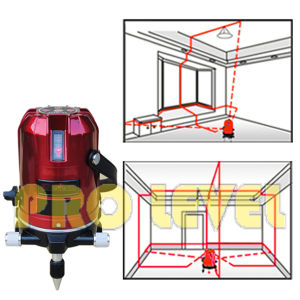 Self-Leveling 4V1h1d Laser Level (SK-498DP) pictures & photos