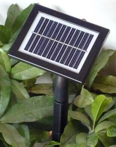 Glass PV Solar Panel Controller with Battery Monocristal (13*9.6) pictures & photos
