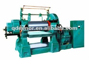 Qingdao Eenor Fine Quality Open Mixing Mill pictures & photos