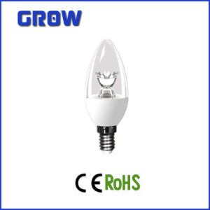 C37 Clear Bulb SMD LED Candle Lamp pictures & photos