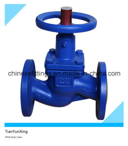 A216wcb Pn16 DIN En558-1 Cast Steel Globe Valve pictures & photos
