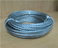 Galvanized 7X7 Steel Cable in 3mm pictures & photos