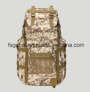 50L 1000d Molle System Army Camo Hiking Sports Bag Backpack pictures & photos