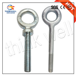 Forging Part Galvanized Steel Thread Long Shank Eyebolt pictures & photos